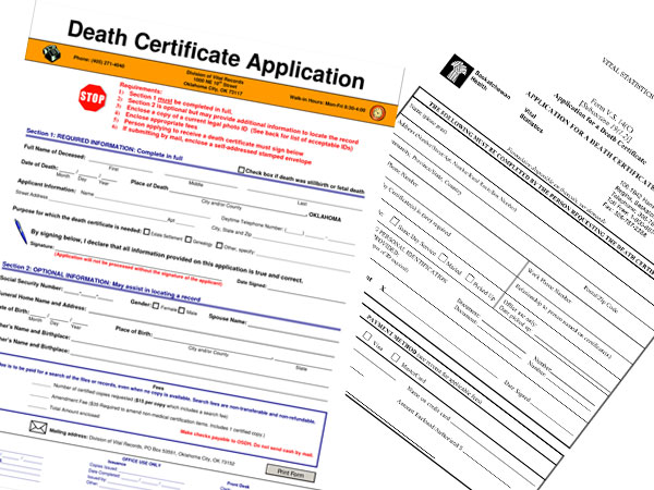 Make changes to death certificates through the online death certificate agency