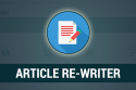 Online Article Rewriter Tool! Rewrite Content for Free!
